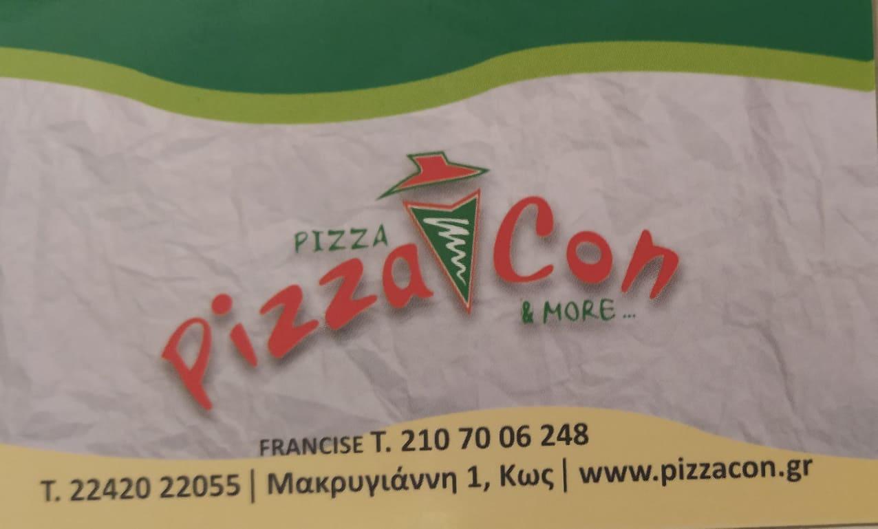 Pizza Con & More   Μακρυγιάννη 1 Κως